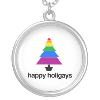 HAPPY HOLIGAYS TREE - png Pendants