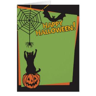 Happy Holloween Greeting Card