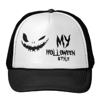 HAPPY HOLLOWEEN TRUCKER HAT