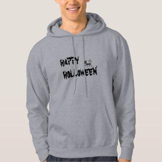 happy holloween hooded sweatshirt