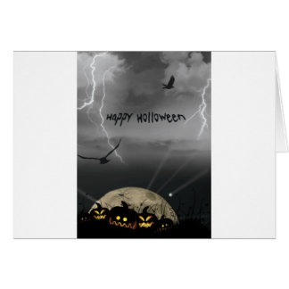 Happy Holloween Note Card