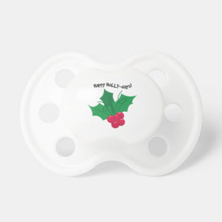 Happy Holly-Days! BooginHead Pacifier