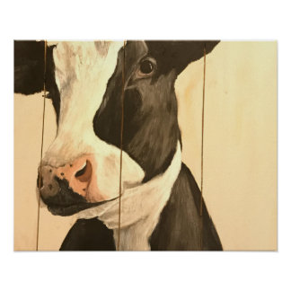 Happy Holstein Poster