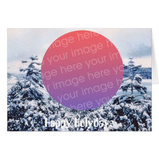 Happy Holydays Greeting Card