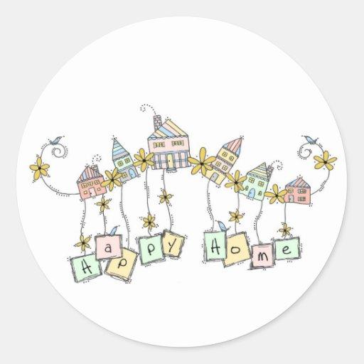 Happy Home Doodles Sticker