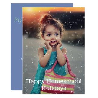 Happy Homeschool Holidays Card