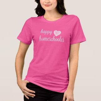 Happy Homeschooler Heart T-Shirt