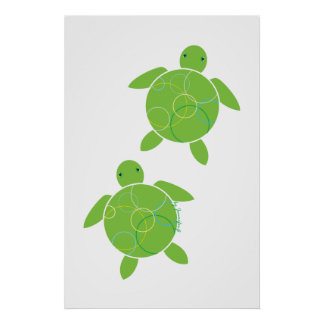 Happy Honu Print