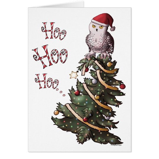 Happy Hoolidays Card