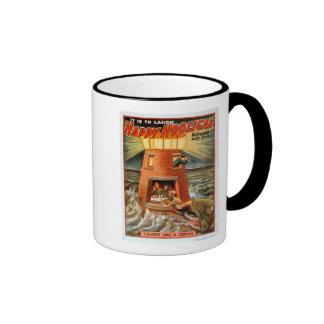 Happy Hooligan Lighthouse and Jonah Play Coffee Mugs