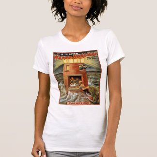 Happy Hooligan Lighthouse Poster T-Shirt