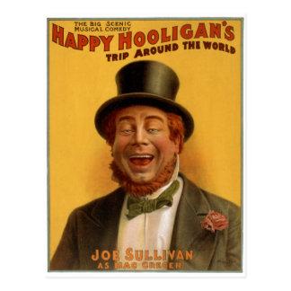 Happy Hooligan s Trip Around the World Postcards