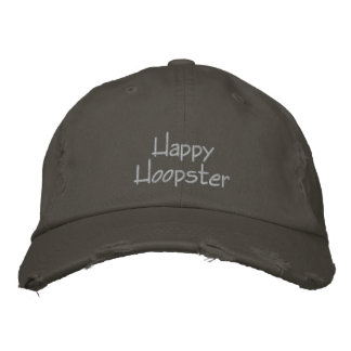 Happy Hoopster Embroidered Baseball Cap