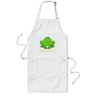 Happy Hoppy Frog Apron