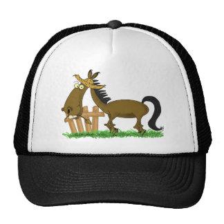 Happy Horse Mesh Hat