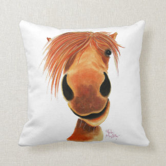 Happy Horse ' Ginger Nut ' Throw Pillow Cushion