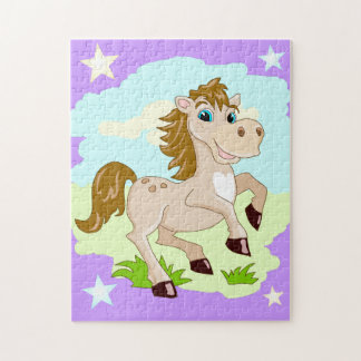 Happy Horse Picture Puzzle