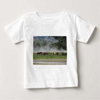 Happy Horses Baby T-Shirt