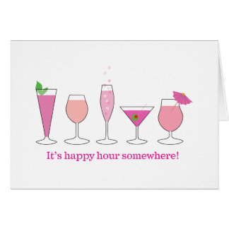 happy hour cards
