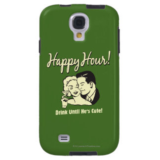 Happy Hour: Drink Until He's Cute Galaxy S4 Case