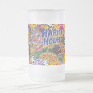 Happy Hour Luau Party Mug
