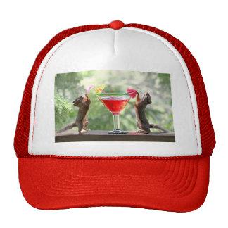 Happy Hour Squirrels Cap