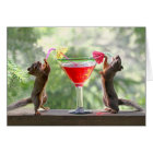 Happy Hour Squirrels Card
