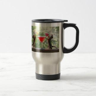 Happy Hour Squirrels Travel Mug