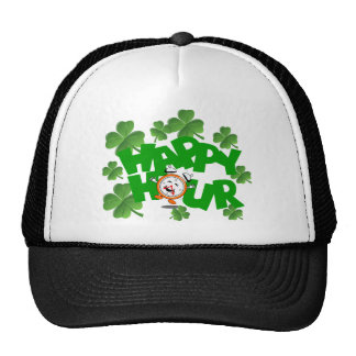 Happy hour St Patrick's design Cap