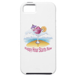 HAPPY HOUR STARTS NOW iPhone 5 CASES