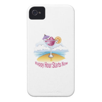 HAPPY HOUR STARTS NOW iPhone 4 CASE