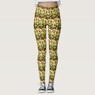 Happy house leggings