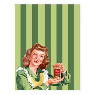 Happy House Wife Postcard