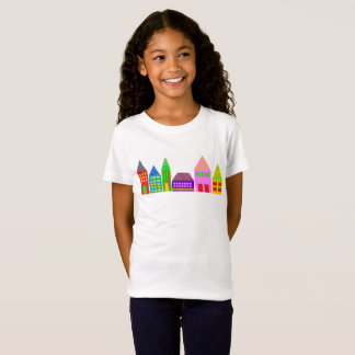 happy houses kids t-shirt