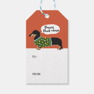 Happy Howl-idays Gift Tags