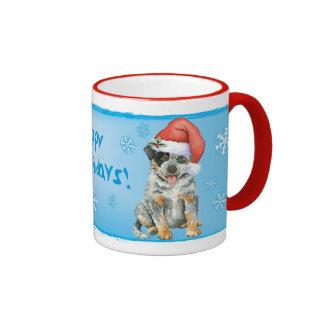 Happy Howliday ACD Ringer Mug