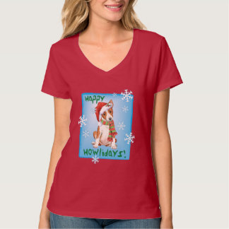 Happy Howliday Basenji T-Shirt