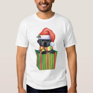 Happy Howliday Black Lab T-shirts