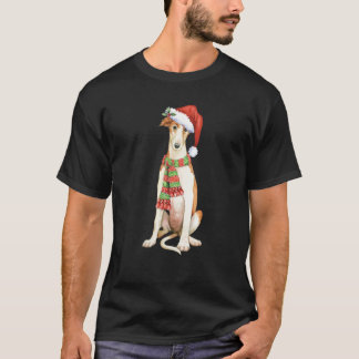 Happy Howliday Borzoi T-Shirt