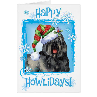 Happy Howliday Bouvier Card