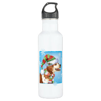 Happy Howliday Brittany 710 Ml Water Bottle