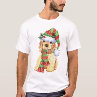 Happy Howliday Cocker Spaniel T-Shirt