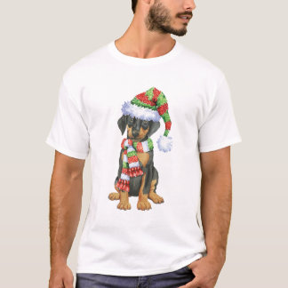 Happy Howliday Doberman T-Shirt