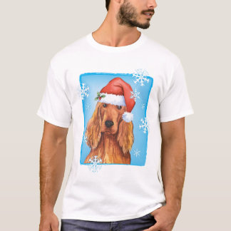 Happy Howliday Irish Setter T-Shirt