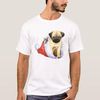 Happy Howliday Pug T-Shirt