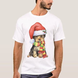 Happy Howliday Yorkie T-Shirt