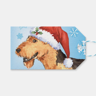 Happy Howlidays Airedale