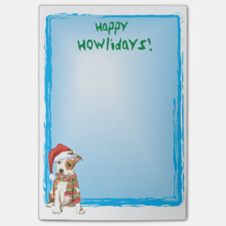Happy Howlidays Am Staff Post-it® Notes