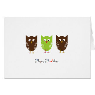 Happy Howlidays Card