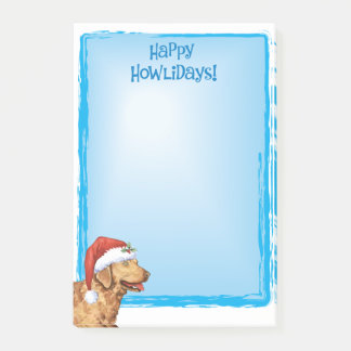 Happy Howlidays Chessie Post-it Notes